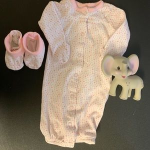 Carter's Pajamas - Carter's newborn sleep set